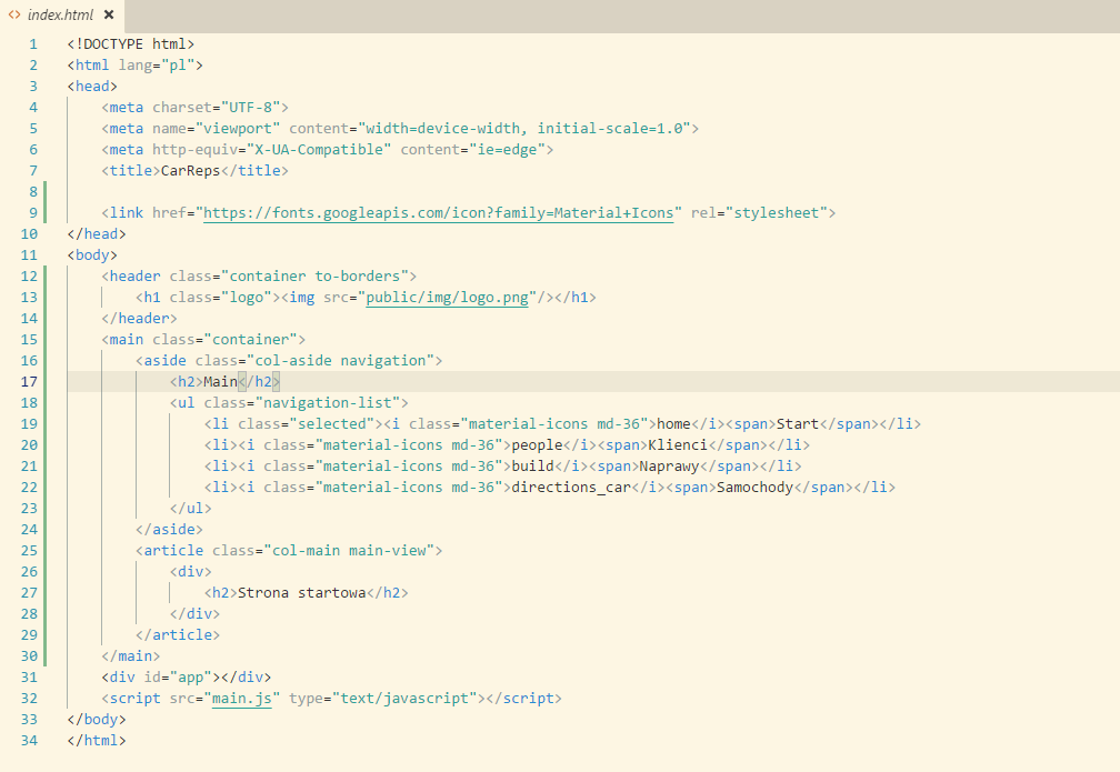 Plik index.html